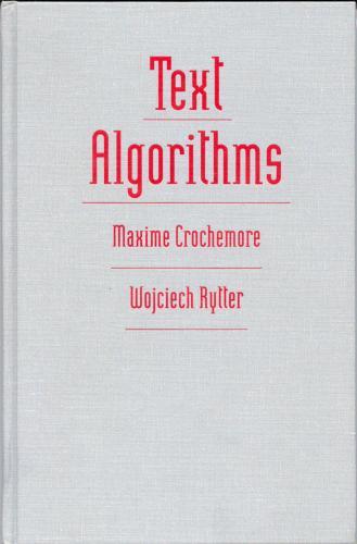 Text Algorithm